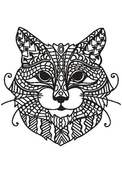 کتاب رنگ آمیزی مجموعه تصاویر زیبای گربه ها برای بزرگسالان