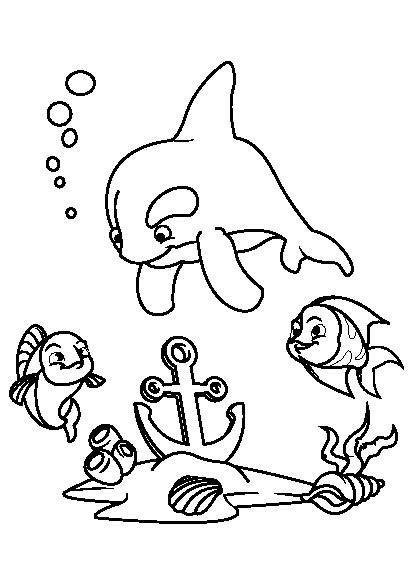 کتاب رنگ آمیزی برای کودکان | مجموعه رنگ آمیزی دنیای زیر آب با ماهی هاکتاب رنگ آمیزی برای کودکان | مجموعه رنگ آمیزی دنیای زیر آب با ماهی ها