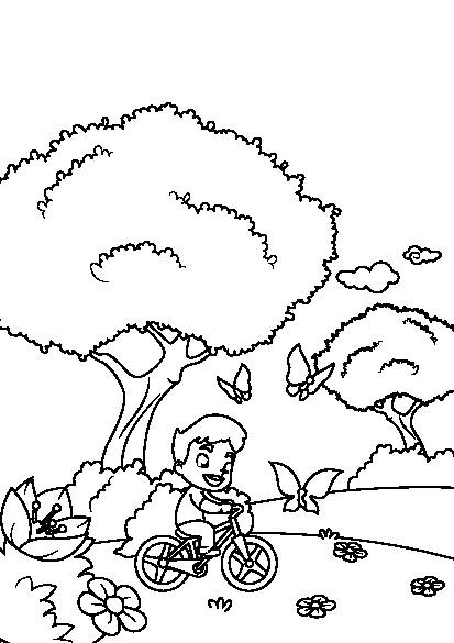 دانلود کتاب رنگ آمیزی فصل بهار برای کودکان